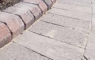 Alpha flow kerbs for block paving by Brett Landscaping