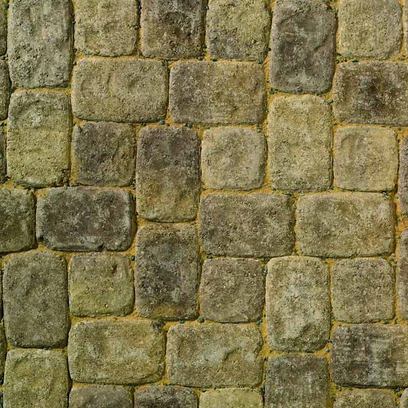 Aura Bronze Fleck block paving by Brett Landscaping