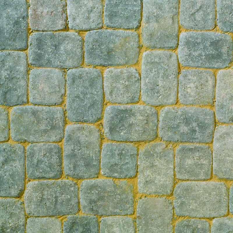 Aura Silver Fleck block paving by Brett Landscaping