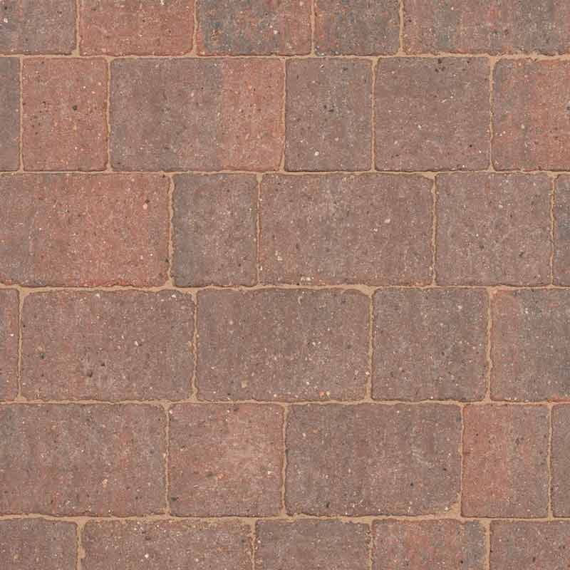 Brindle block paving by Brett Landscaping