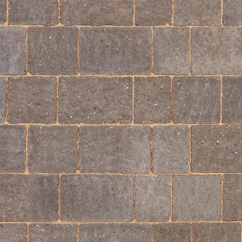charcoal block paving by Brett Landscaping