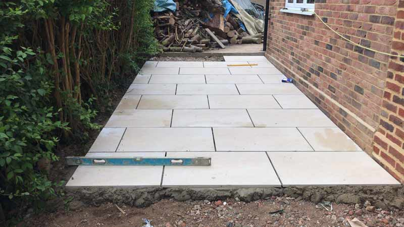 Garden Patio by Wiltshire Paving